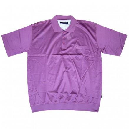 Поло с коротким рукавом 89 на резинке фиолетовое