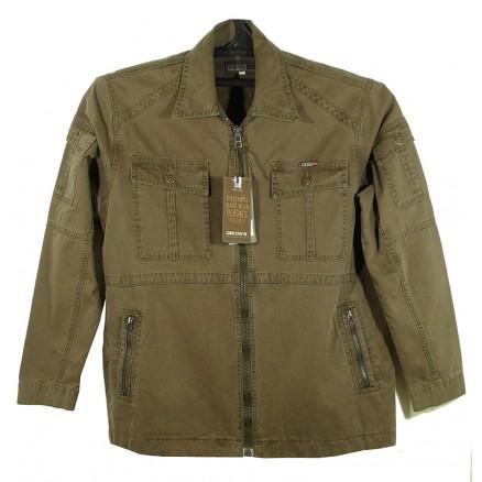 Куртка прямая с капюшоном