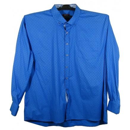 Рубашка классическая синяя