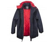 Куртка однотонная прямая 0007