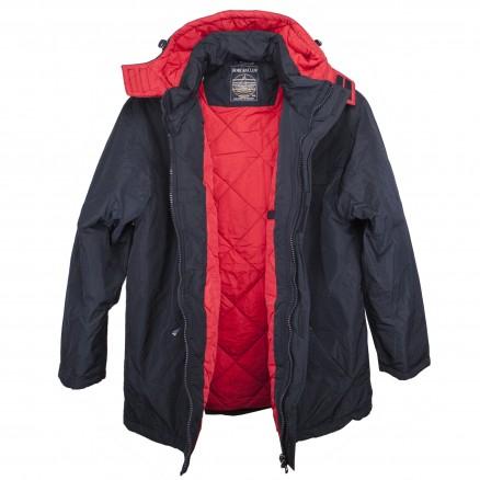 Куртка однотонная прямая