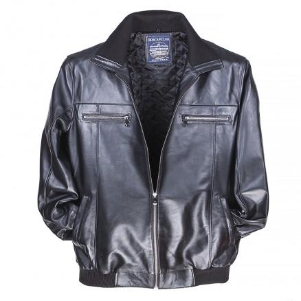 Куртка кожаная классическая