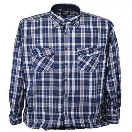 Рубашка клетка 001